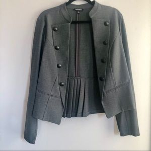 Torrid Military Style Blazer